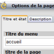 Titre et Options